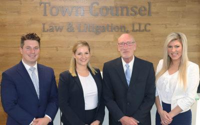 """Town Counsel Law & Litigation's slogan is """"Public Interest Matters."""""""